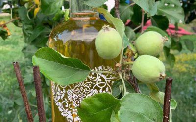 Oțet de mere și miere fără conservanți