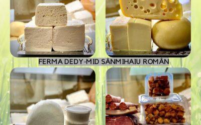 Produse lactate Sânmihaiu Român
